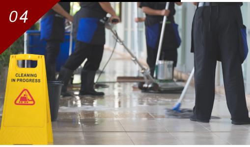 ビルマンション日常・定期清掃